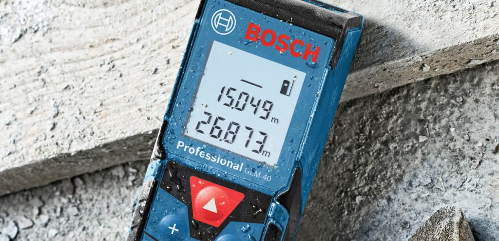 télémètre laser de Bosch GLM 40